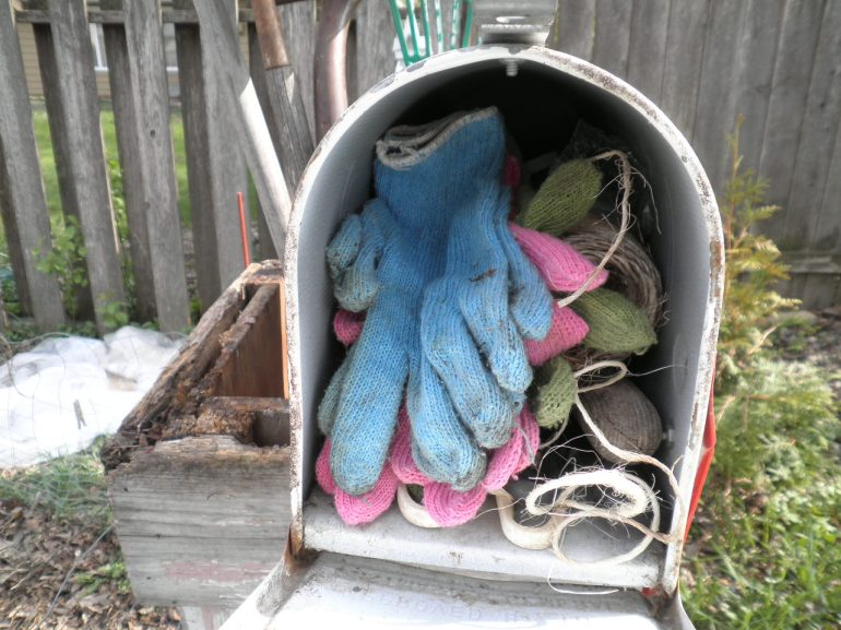 Garden Mailboxes, Re-Purposed Mailboxes